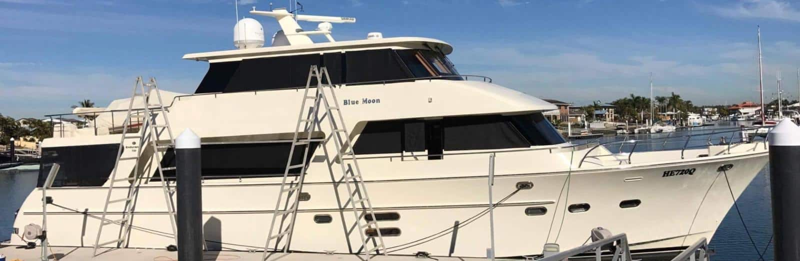 Professional Boat Detailers based in Manly The Boat Care Company services the Manly, Gold Coast, Brisbane and the Sunshine Coast