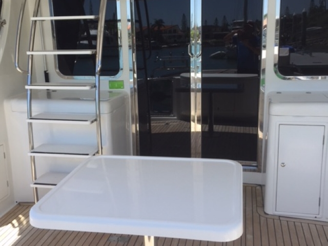 Bella 42ft  Detailing by The Boat Care Company, Manly Brisbane