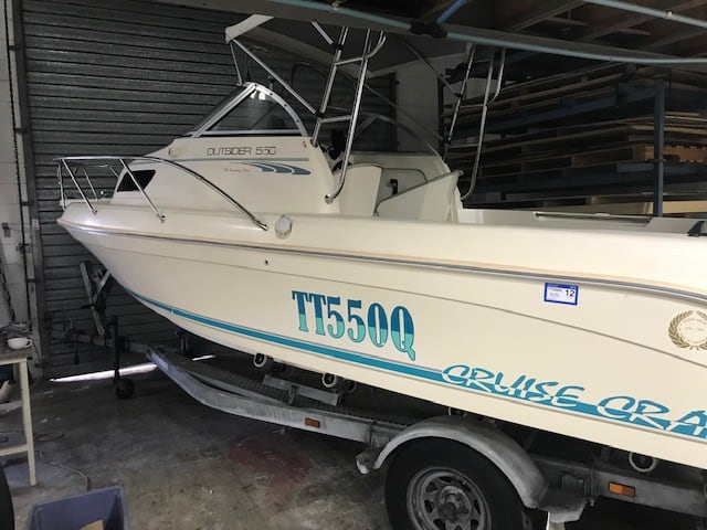 Cruise Craft 550 Detailed by The Boat Care Company, Manly, Bribane