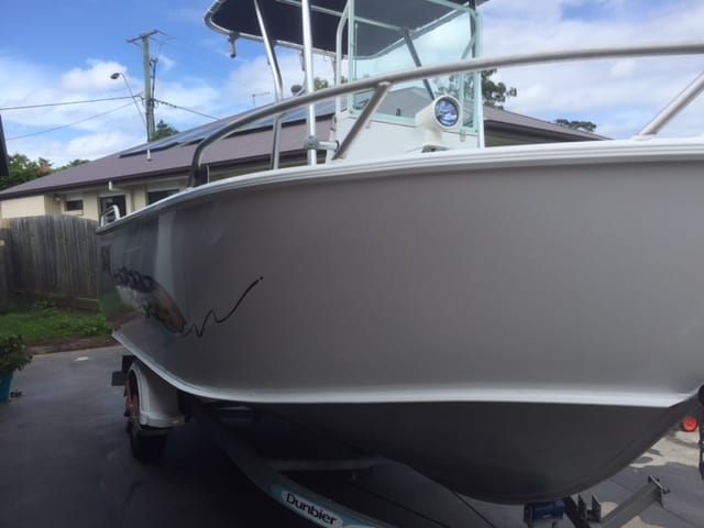 Formosa 5.5m detailed by The Boat Care Company , Manly Brisbane
