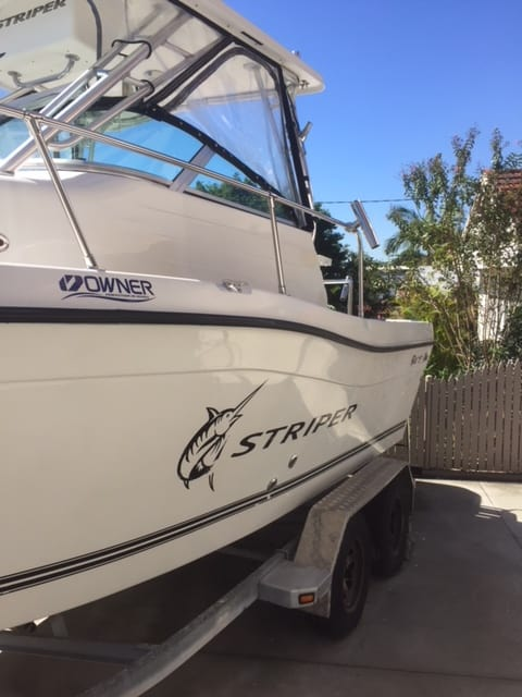 Striper 21ft - Detailed by the The Boat Care Company Manly, Brisbane
