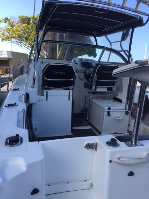 After Full Detail Photo - Cruise Craft Outsider 685 - The Boat Care Company