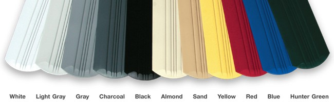 Keelguard Colours - All colours are UV-stabilized for true colour