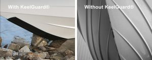 Megaware Keelguard With and-Without| The Boat Care Company, Manly